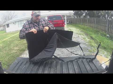 demon tailgate pad install/review
