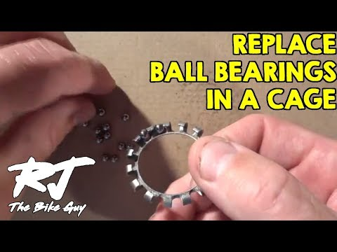 How To Replace Ball Bearings In A Retainer Cage