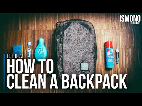 HOW TO clean a Backpack (Tutorial)