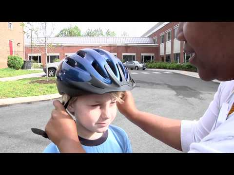 Bike Safety: How to Fit Kids for Bike Helmets