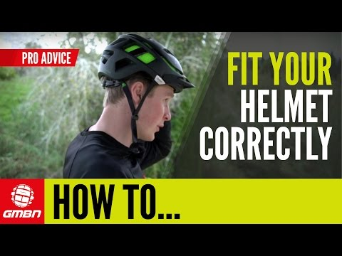How To Fit Your Helmet Correctly | Mountain Bike Skills