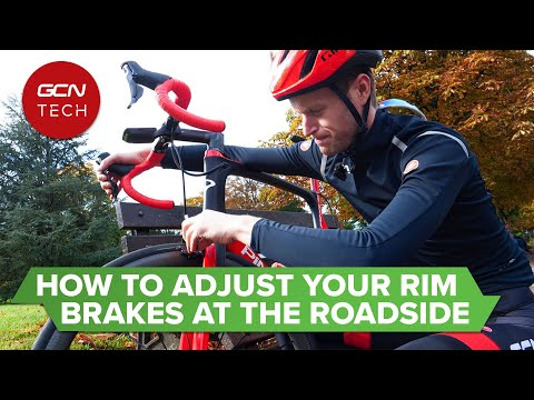 How to Adjust Your Rim Brakes on the Roadside | GCN Tech Monday Maintenance