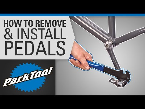 Bicycle Pedal Removal and Installation