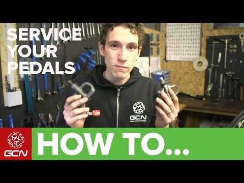 How To Service Your Pedals - GCN's Guide To Servicing Look And Shimano Pedals