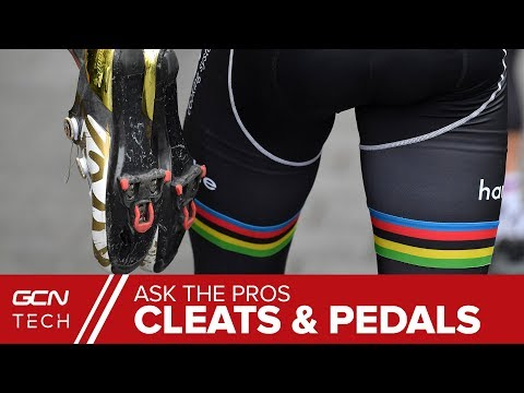 GCN Tech Asks The Pros | Cleats And Pedal Setup