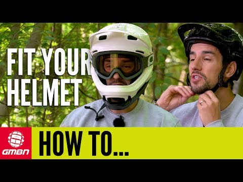 How To Correctly Fit A Mountain Bike Helmet