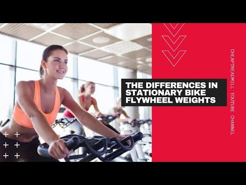 The Differences in Stationary Bike Flywheel Weights