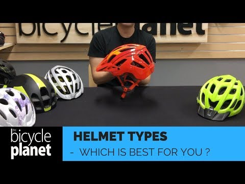 Different Helmet types.... How many are there?