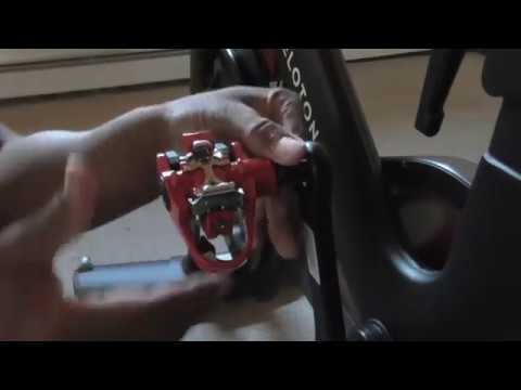 How to change the pedals on a Peloton bike