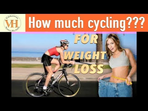 How much daily cycling to lose weight