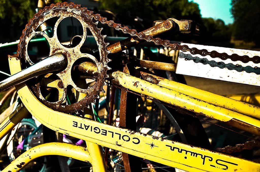 Bike Chain, Rust