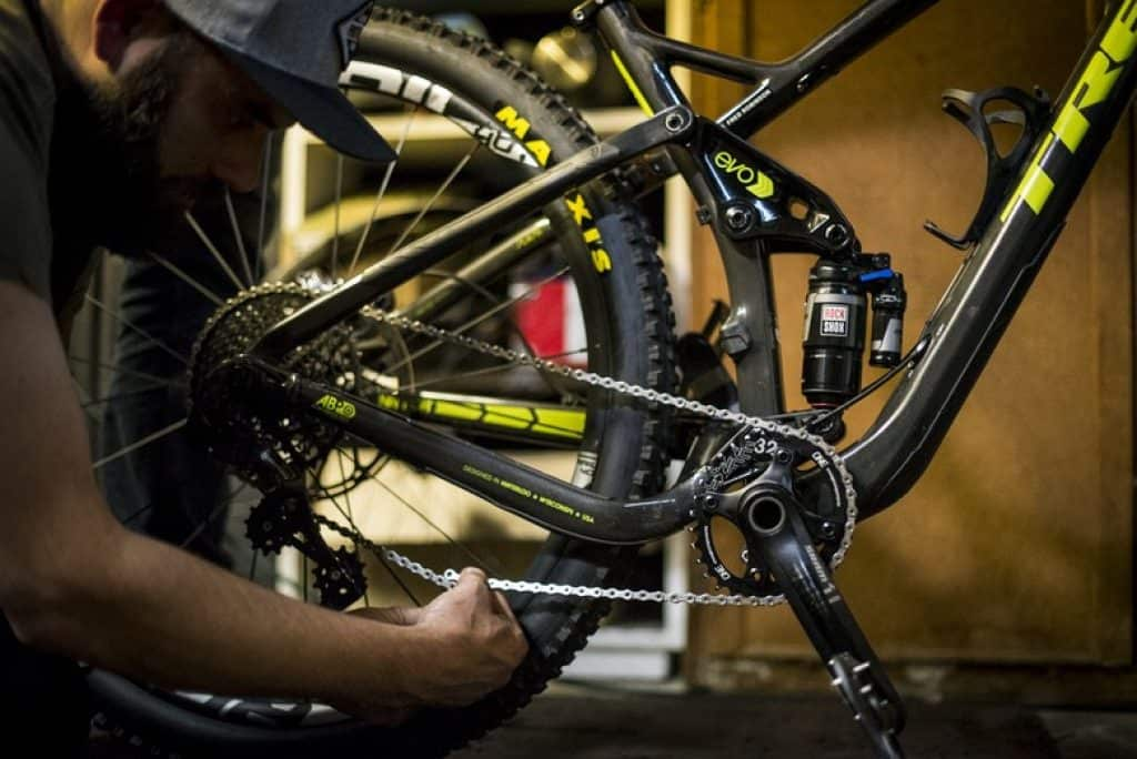 Check drivetrain of your bicycle