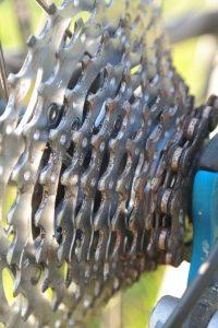 Rust, Bike, Gears