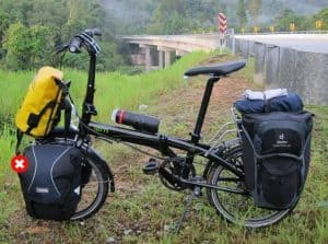 What makes folding bikes good for long bikes?