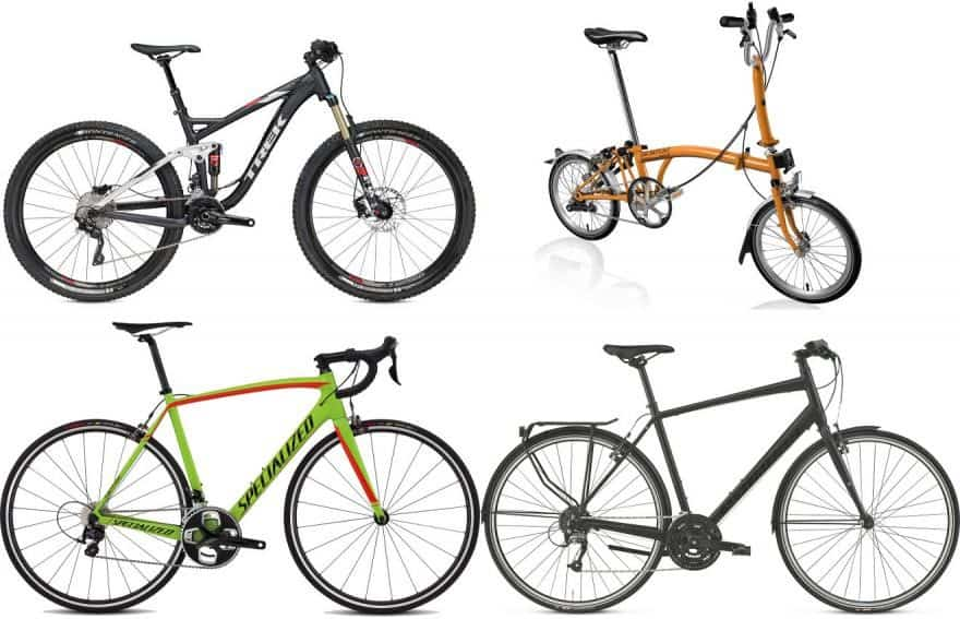 types of road bikes