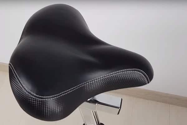 Mountain Bike Seat PU Leather MTB Saddle Pad Replacement Comfy Thick Chair New