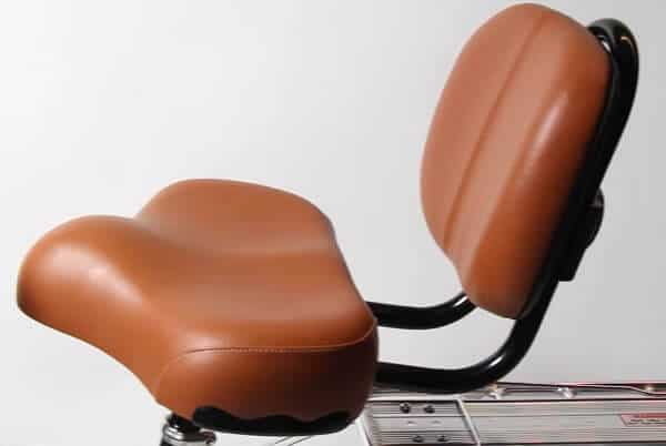 Flying Horse Bicycle Seat with Backrest