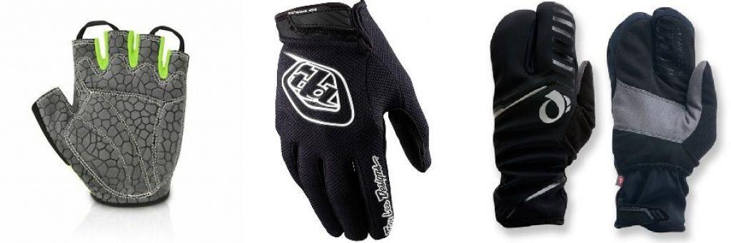 MTB glove types