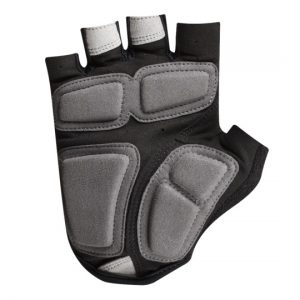 A cycling gloves with padding in palm area