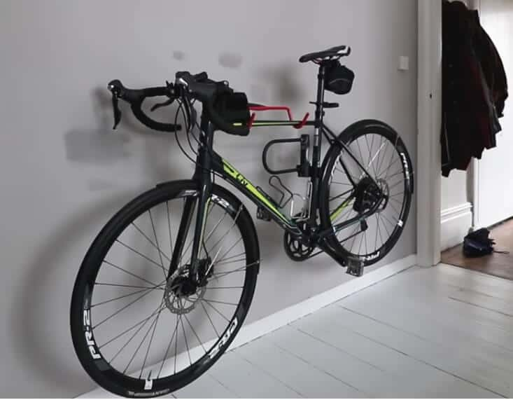 Sx3 Bicycle Storage Rack ~ RED ~ by VELOGRIP