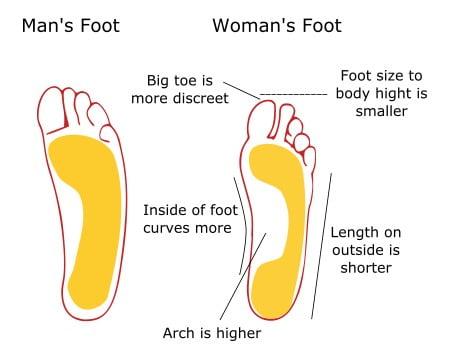 mans-foot-vs-womans-foot