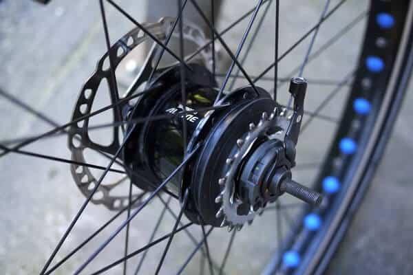 Mountain bike hubs