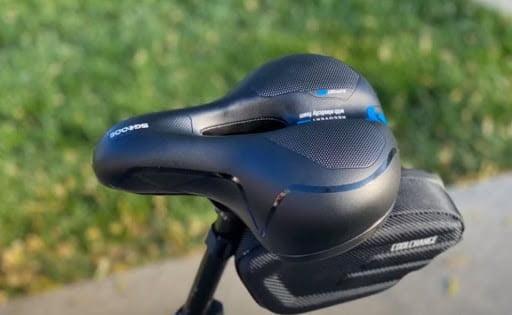 Cushioned bike saddles