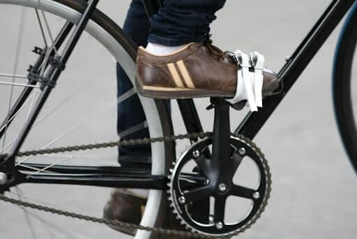 Pedal Toe Clips and Straps