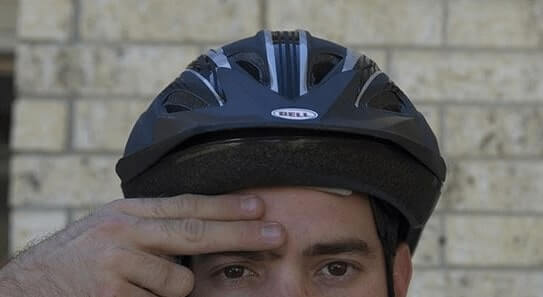 Positioning the Helmet