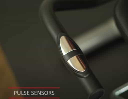 Recumbent bike handle with Pulse Sensor