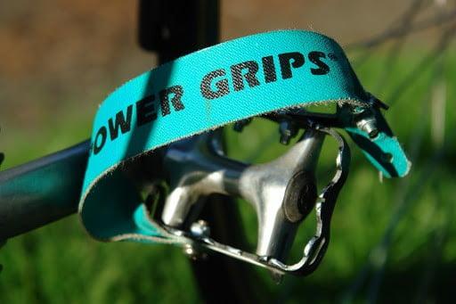 Toe clip pedal