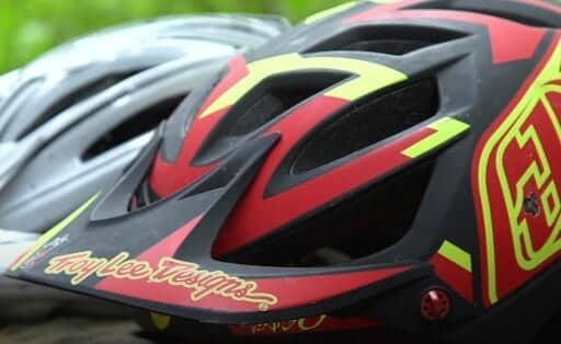 well-ventilated bike helmet