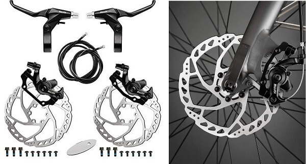 RUJOI Mechanical Disc Brake Kit 1