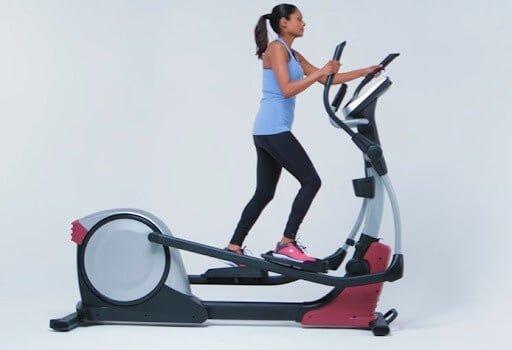 Rear-drive elliptical