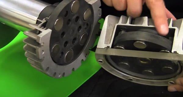 Smart-trainer-flywheel