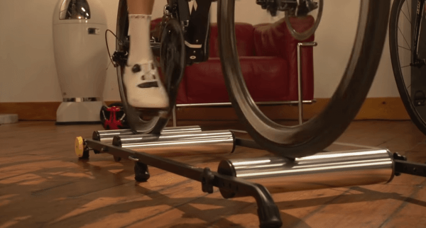 Steel Frame on a Roller