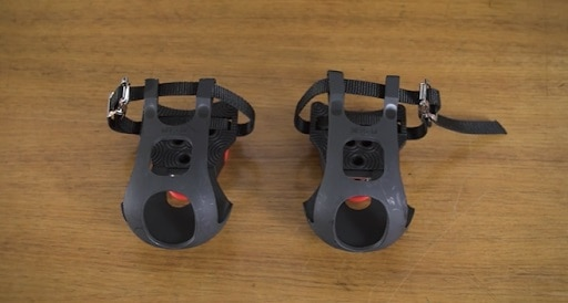 Toe-cage pedals