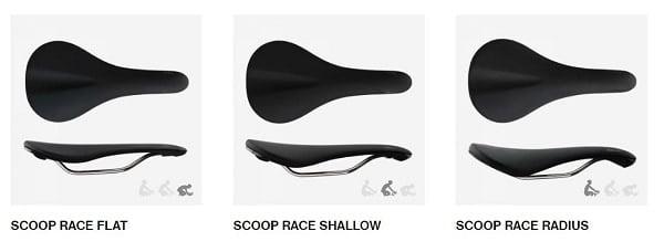 Fabric Scoop Race Saddle