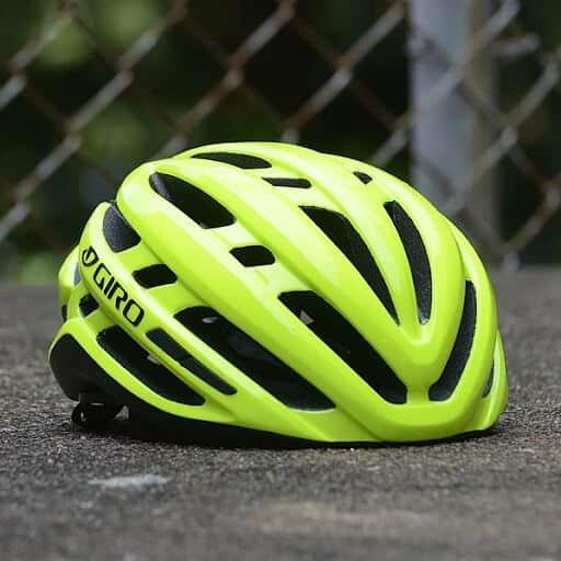 Road helmet with no visor