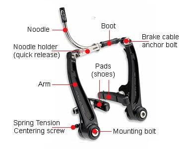 Rim Brake Anatomy