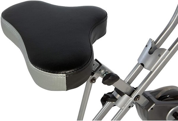 Exercise bike seat short size for comfort