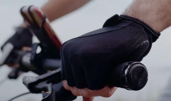 Get a decent pair of mountain biking gloves