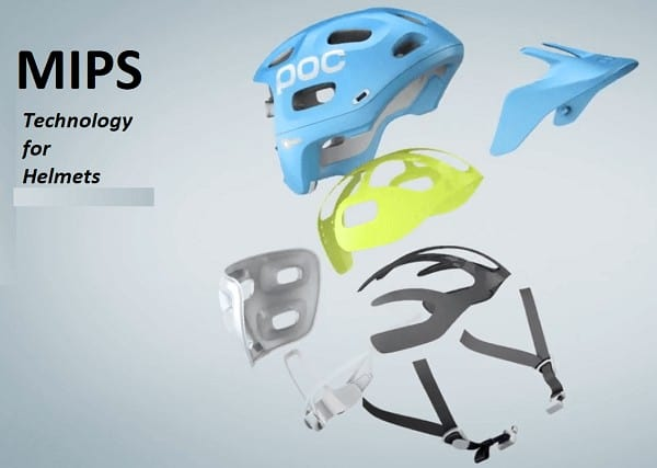 MIPS technology for helmets
