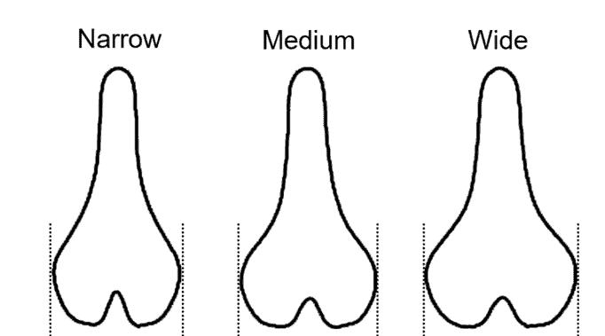 MTB saddle variable lengths