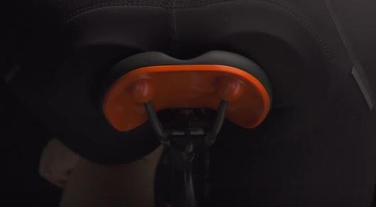 Minimum padding for maximum saddle comfort