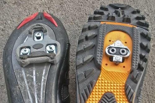 Road vs mtb shoes