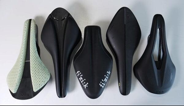 Various saddles