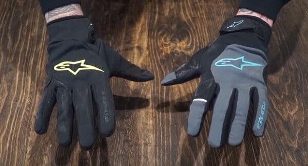 Winter MTB gloves