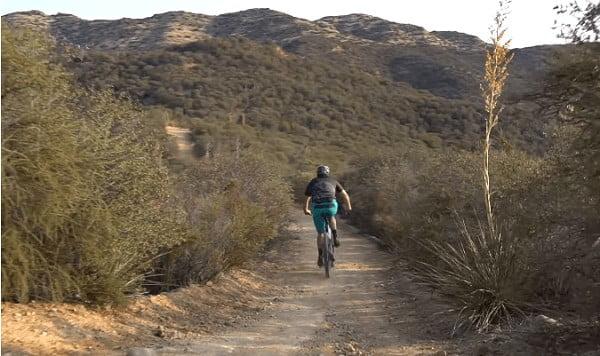 XC riding