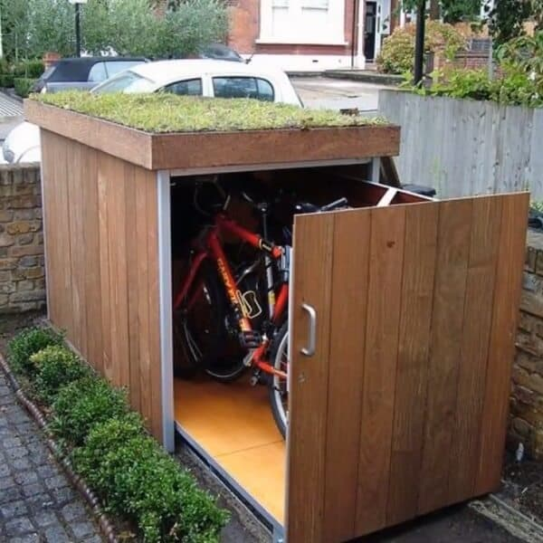 Aesthetics is important for your bike shed too